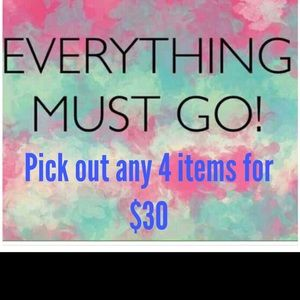 Other - 4 Items for $30 or best offer!